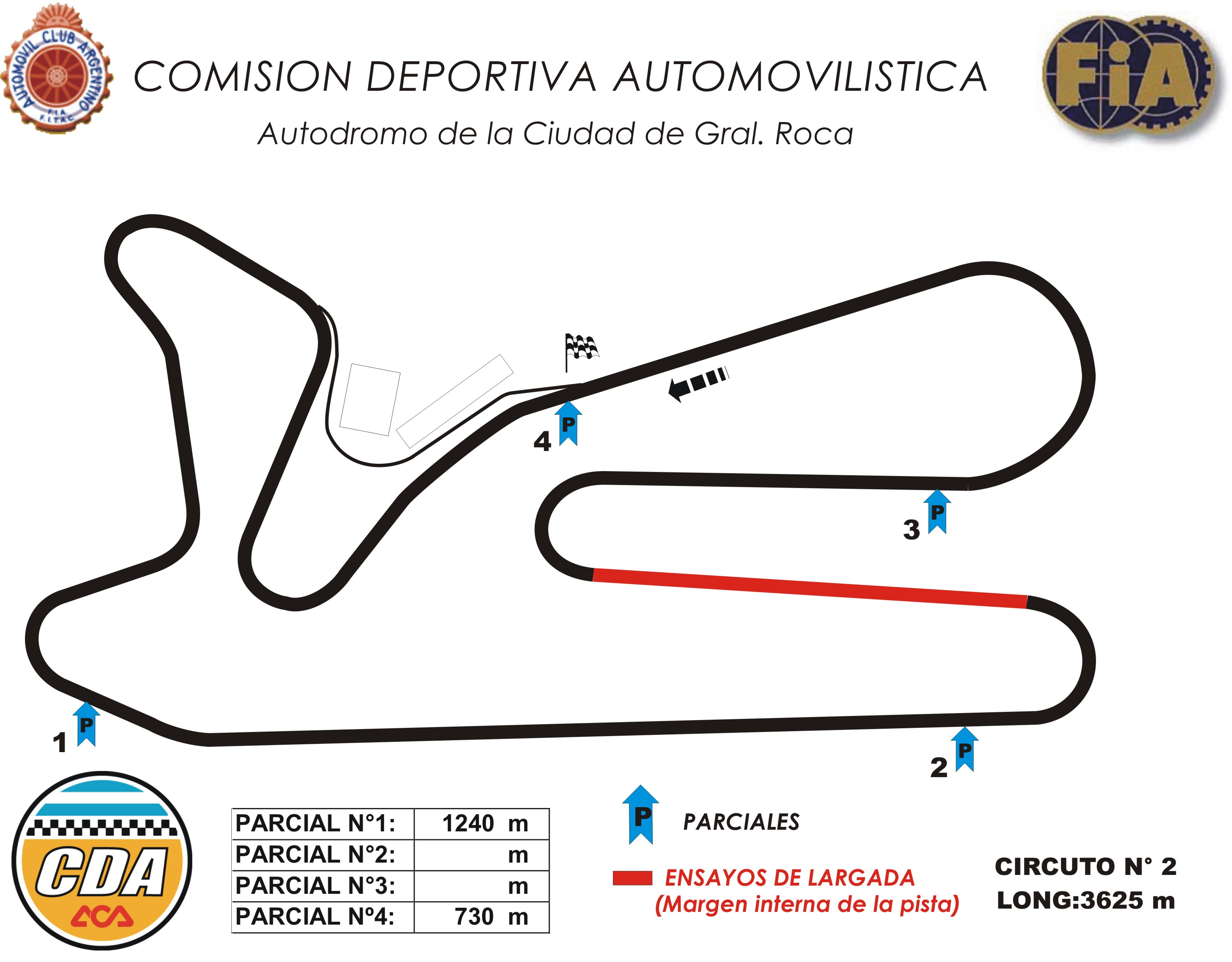 Circuito General : Autódromos cda