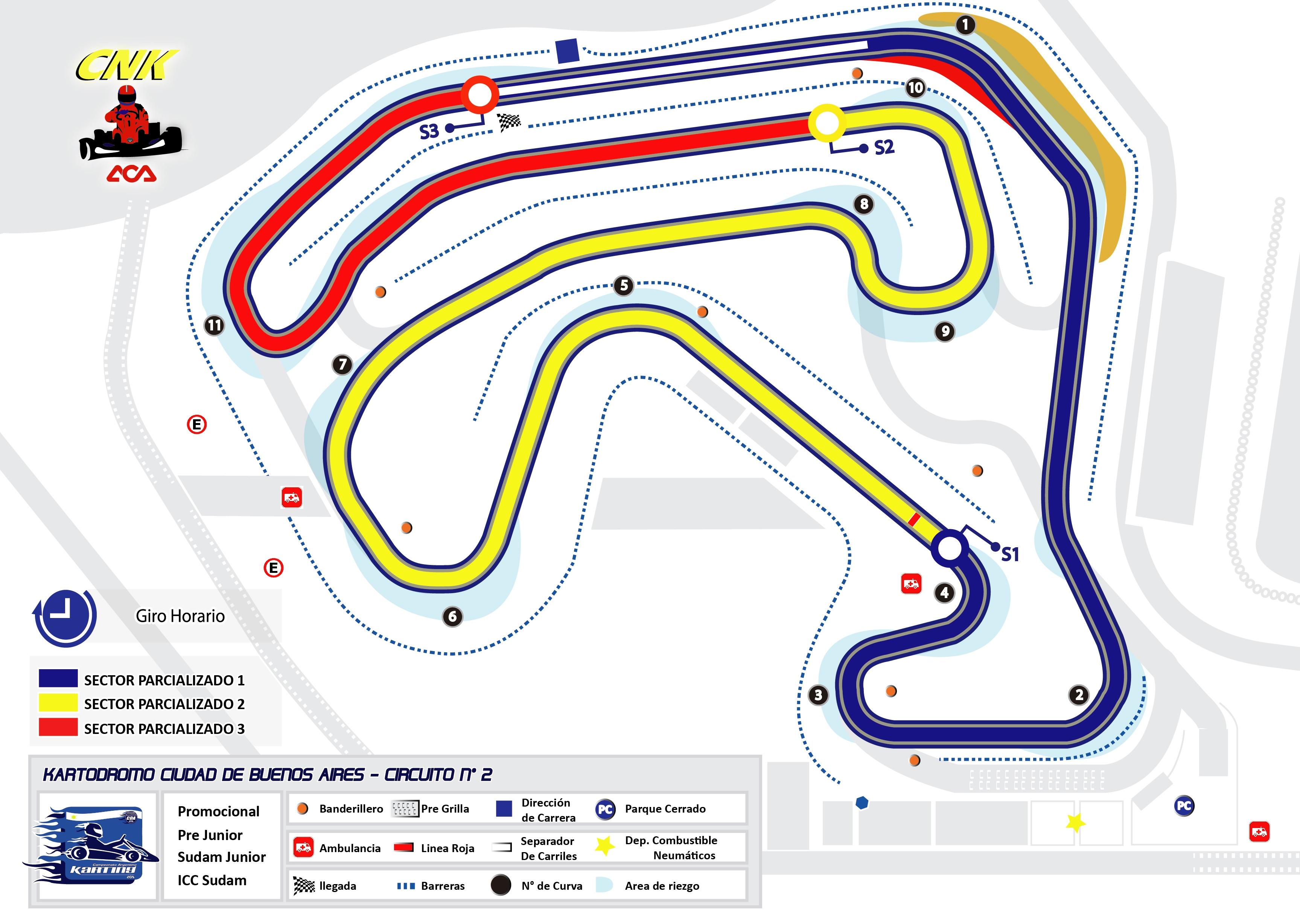 Circuito Del Habla : Autódromos cda